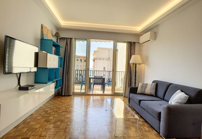 Apartment in Nice - N&J - BLEU AZUR VUE MER - Central - Very close sea