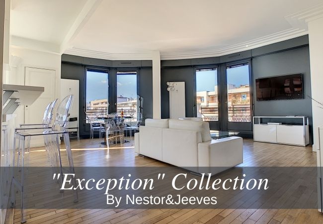Apartment in Nice - N&J - LES AIGLES - Very close sea - Top floor - Luxe