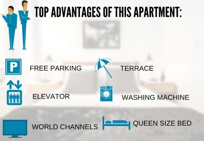Apartment in Nice - N&J -PALAIS RENOIR - Close sea - Free parking