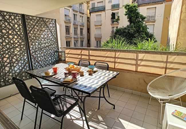 Apartment in Nice - N&J - PALAIS MEDITERRANEE TERRASSE - Central - Very close sea