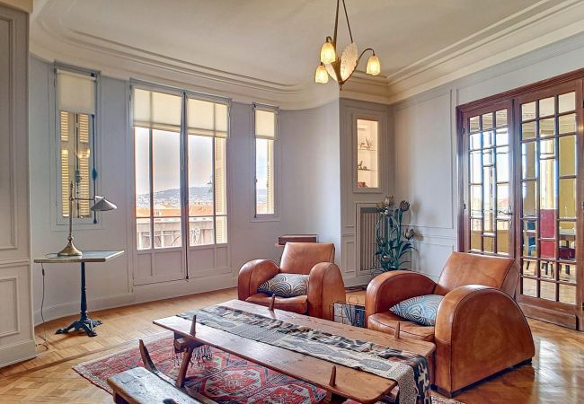 Apartment in Nice - N&J - PALACE ROTONDE PRESTIGE - Central - By sea - Top floor
