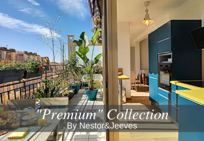 Apartment in Nice - N&J - TOUCAN DUPLEX TERRACE - Hyper center - Top floor