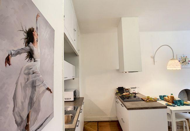 Apartment in Nice - N&J - BLUE DANCE - Central - Very close sea - Pedestrian zone