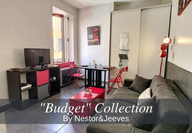 Studio in Nice - N&J - RED TOUCH - Central - Close sea - Pedestrian zone