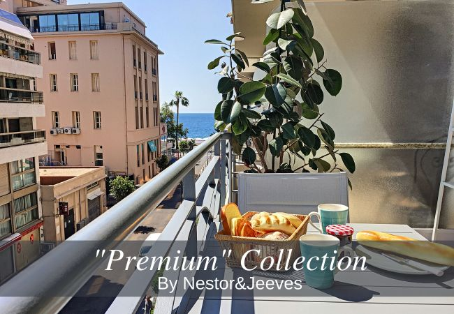 Studio in Nice - N&J - BLUE OCEAN - Central -  Very close beaches - Sea view