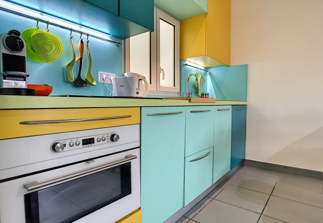 Apartment in Nice - N&J - POP RETRO - Central - By sea