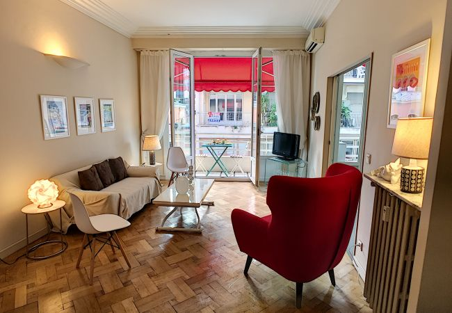 Studio in Nice - New ! N&J  - TROIS PALMIERS - Golden square - Very close to the sea