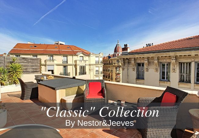 Studio in Nice - N&J - ESCURIAL TERRASSE - Hyper center - Shopping area