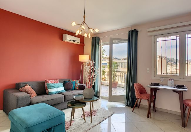 Apartment in Nice - N&J - CORAL SEA TERRACE - Central - Very close sea