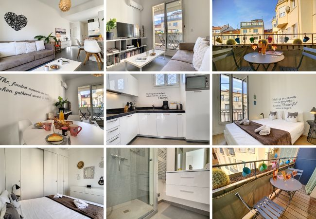 Apartment in Nice - New! N&J - SWEETHEART - Hyper center - Close sea and Old Town