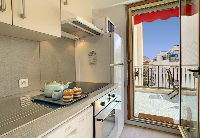 Apartment in Nice - New! N&J - SUNRISE TERRACE - Central - Very close sea - Terrace 30m²
