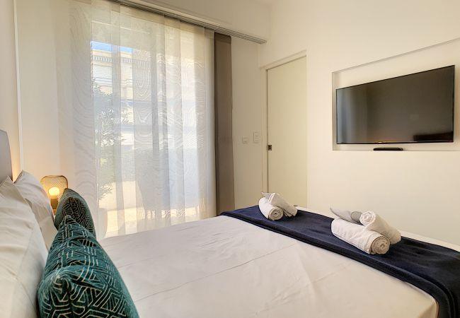 Apartment in Nice - New! N&J - REINE MARIE TERRASSE - Central - Very close sea - Top floor