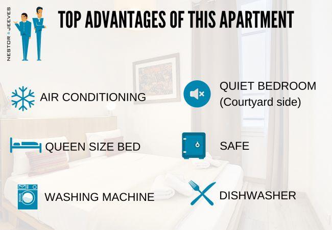 Appartement à Nice - N&J - COTE JARDIN - Central - Proche mer