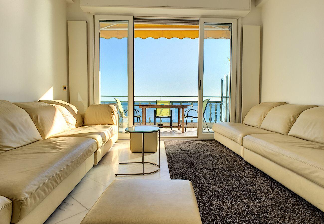 Appartement à Nice - N&J - PALAIS DE FRANCE - Central - Front mer