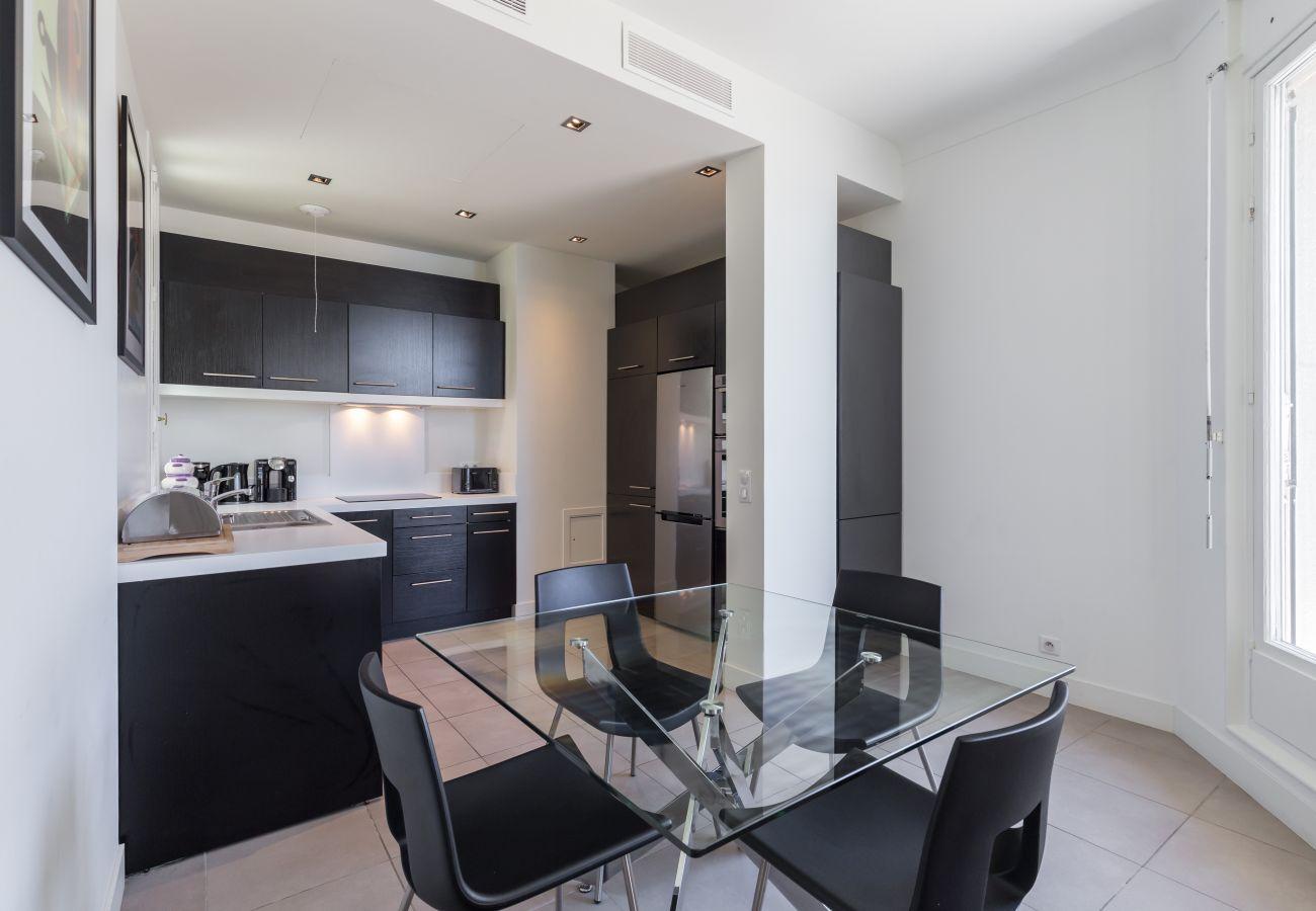 Appartement à Nice - N&J - SEA VIEW TERRACE PENTHOUSE - Terrasse 70m² - Luxe