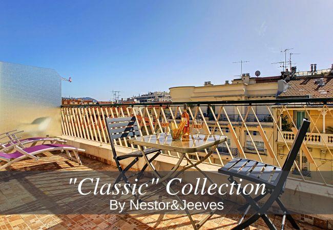 Appartement à Nice - N&J - GIBRALTAR TERRASSE - Central - Très proche mer - Zone piétonne
