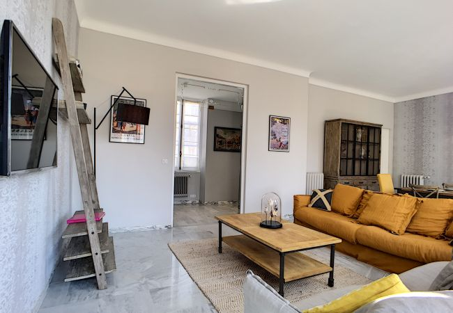 Appartement à Nice - N&J - FRENCH RIVIERA PRESTIGE - Central - Proche mer - Spacieux