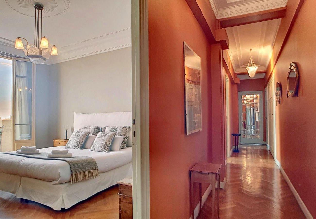 Appartement à Nice - N&J - PALACE ROTONDE PRESTIGE - Central - Proche mer - Dernier étage