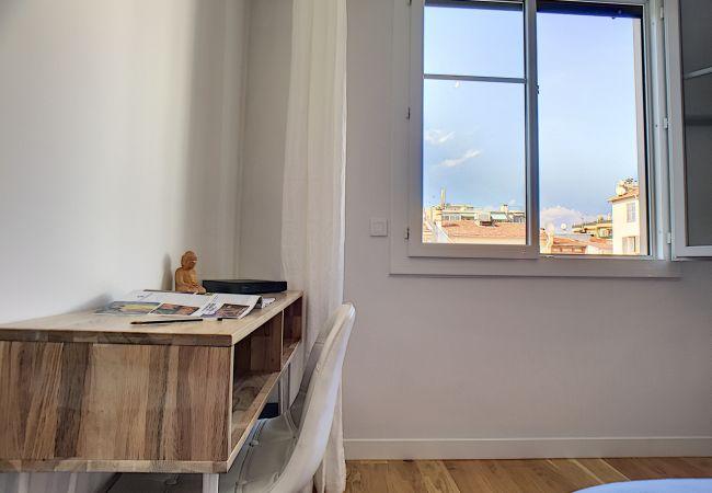 Appartement à Nice - N&J - FIORA PARADISE TERRACE - Central - Très proche mer