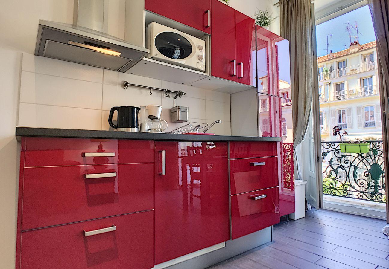 Studio à Nice - N&J  - DOLCE VITA STUDIO - Hyper centre - Rue shopping