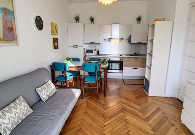 Appartement à Nice - N&J - GREEN TERRACE - Quartier animé - Proche mer