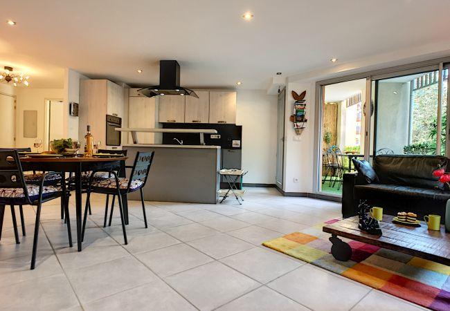 Appartement à Nice - N&J - CIGALUSA TERRASSE - Quartier Port - Proche Vieux Nice