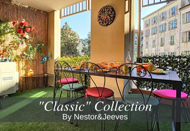 Appartement à Nice - N&J - CIGALUSA TERRACE - Quartier Port - Proche Vieux Nice