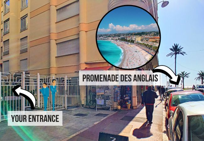 Appartement à Nice - N&J  - MARIA BEACH - Central - Très proche mer