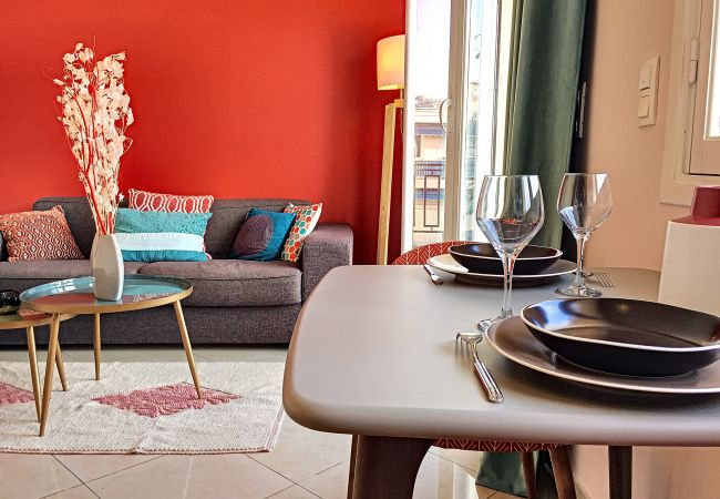 Appartement à Nice - Nouveau! N&J - CORAL SEA TERRACE - Central - Très proche mer