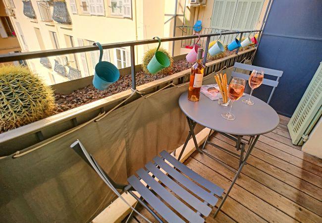 Appartement à Nice - Nouveau! N&J  - SWEETHEART - Hyper centre - Proche mer et Vieux Nice