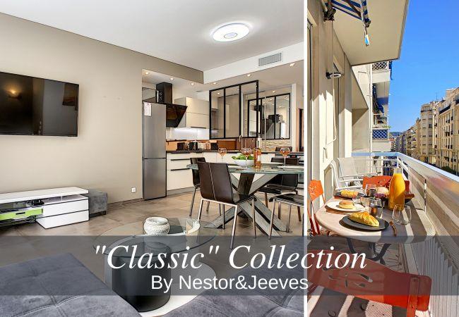 Appartement à Nice - N&J  - GIOIA - Central - Quartier résidentiel - Balcon