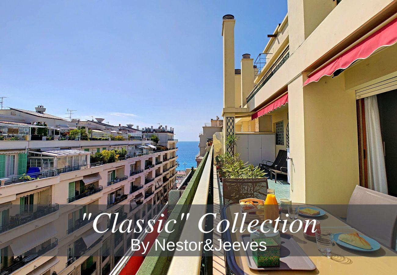 Appartement à Nice - N&J  - SUNRISE TERRACE - Central - Très proche mer - Terrasse 30m²